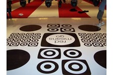 FC023 - Custom Floor Graphic for Event Planning