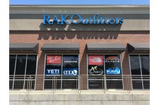 Window Signage for RAK Outfitters Front Entrance Kennesaw GA